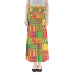 Old Quilt Maxi Skirts