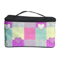 Old Quilt Cosmetic Storage Case