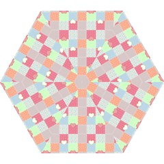 Patchwork Mini Folding Umbrellas