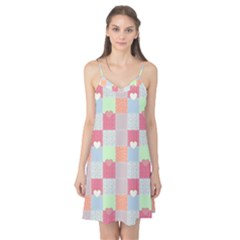 Patchwork Camis Nightgown