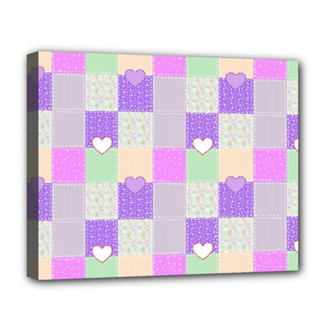 Patchwork Deluxe Canvas 20  x 16