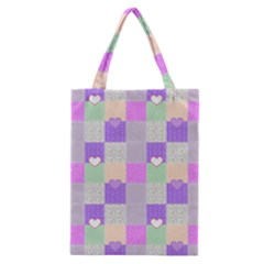 Patchwork Classic Tote Bag