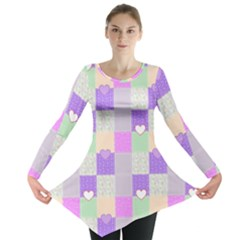 Patchwork Long Sleeve Tunic