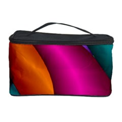 Fractal Wallpaper Color Pipes Cosmetic Storage Case