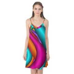Fractal Wallpaper Color Pipes Camis Nightgown