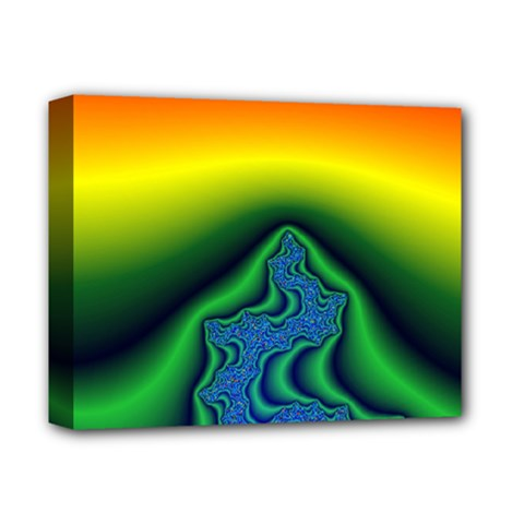 Fractal Wallpaper Water And Fire Deluxe Canvas 14  X 11