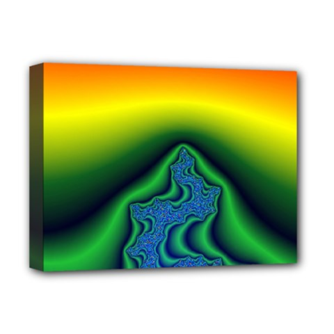 Fractal Wallpaper Water And Fire Deluxe Canvas 16  X 12
