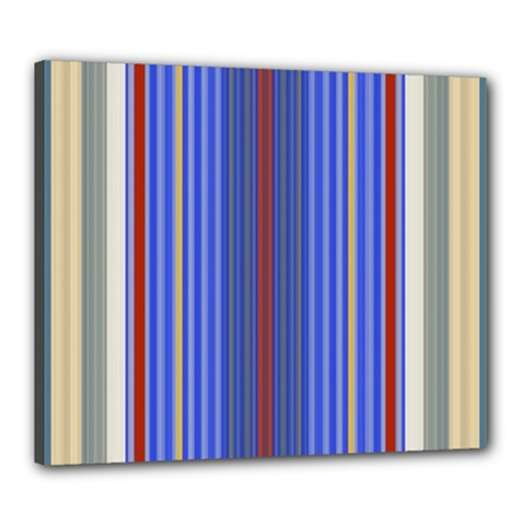 Colorful Stripes Background Canvas 24  x 20