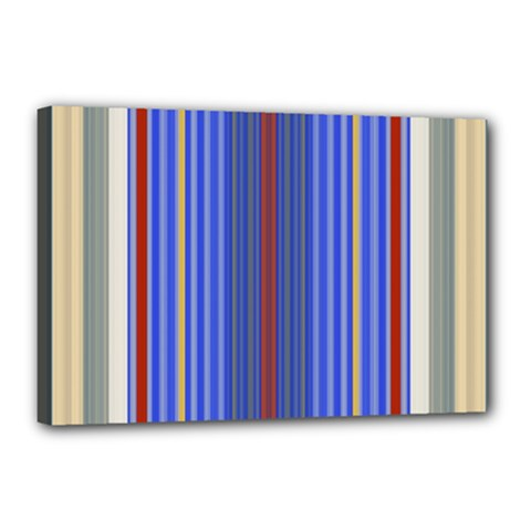 Colorful Stripes Background Canvas 18  X 12