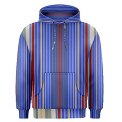 Colorful Stripes Background Men s Pullover Hoodie