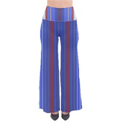 Colorful Stripes Background Pants