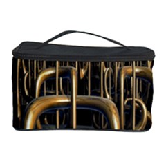 Fractal Image Of Copper Pipes Cosmetic Storage Case