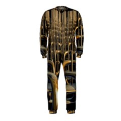 Fractal Image Of Copper Pipes OnePiece Jumpsuit (Kids)
