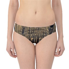 Fractal Image Of Copper Pipes Hipster Bikini Bottoms