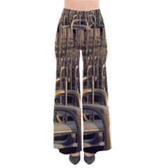 Fractal Image Of Copper Pipes Pants