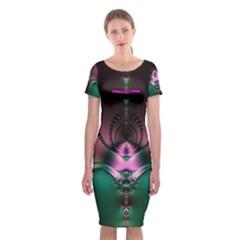 Sterlidru2222 Classic Short Sleeve Midi Dress