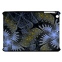 Fractal Wallpaper With Blue Flowers Apple iPad Mini Hardshell Case View1