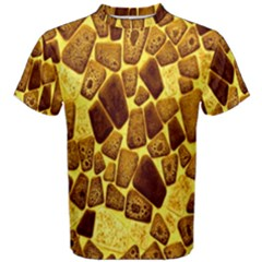 Yellow Cast Background Men s Cotton Tee