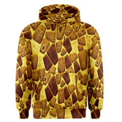 Yellow Cast Background Men s Pullover Hoodie