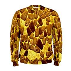 Yellow Cast Background Men s Sweatshirt