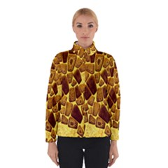 Yellow Cast Background Winterwear