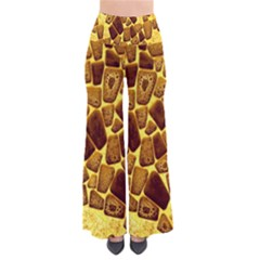 Yellow Cast Background Pants
