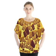 Yellow Cast Background Blouse