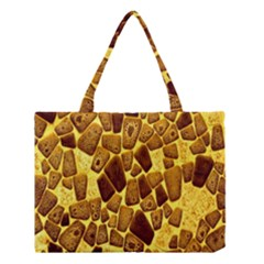 Yellow Cast Background Medium Tote Bag