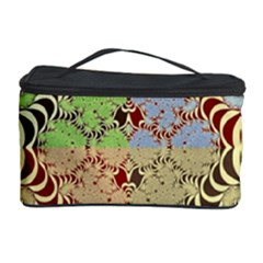 Multicolor Fractal Background Cosmetic Storage Case