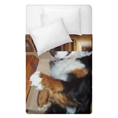 Bernese Mountain Dog Begging Duvet Cover Double Side (Single Size)