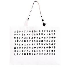 Zodiac killer  Large Tote Bag