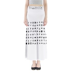Zodiac killer  Maxi Skirts