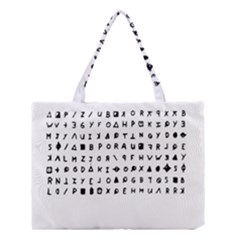 Zodiac killer  Medium Tote Bag