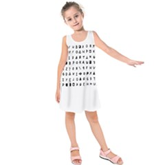 Zodiac killer  Kids  Sleeveless Dress