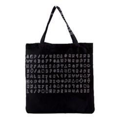 Zodiac killer  Grocery Tote Bag