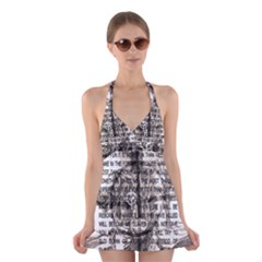Zodiac killer  Halter Swimsuit Dress