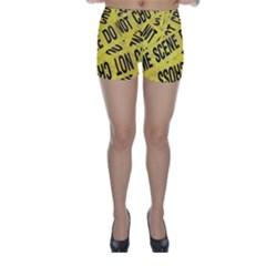 Crime scene Skinny Shorts