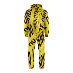 Crime scene Hooded Jumpsuit (Kids)