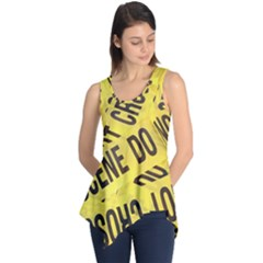 Crime scene Sleeveless Tunic