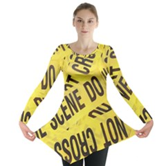 Crime scene Long Sleeve Tunic