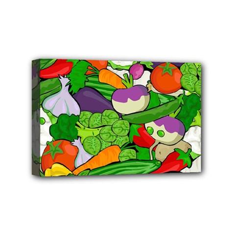 Vegetables  Mini Canvas 6  x 4