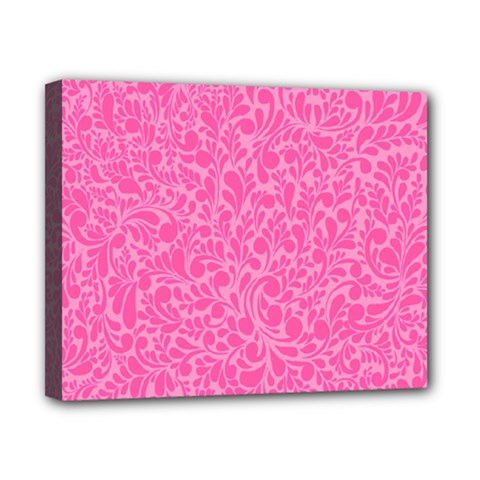 Pink pattern Canvas 10  x 8