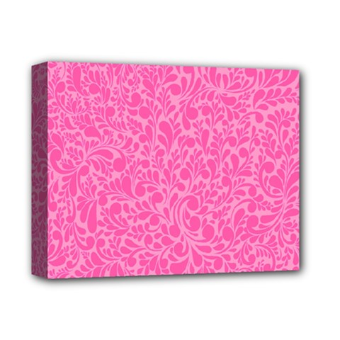 Pink pattern Deluxe Canvas 14  x 11