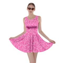 Pink pattern Skater Dress