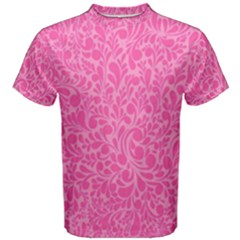 Pink pattern Men s Cotton Tee