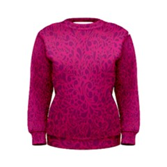 Pink pattern Women s Sweatshirt