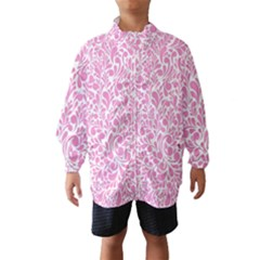 Pink pattern Wind Breaker (Kids)