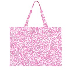 Pink pattern Large Tote Bag