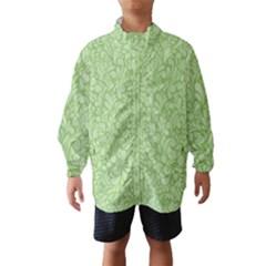 Green pattern Wind Breaker (Kids)