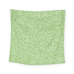 Green Pattern Square Tapestry (small)
